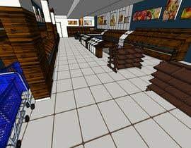 #31 for Design a 3D Fruit Grocery and Cold Room Storage plus a 2D Floor plan af leonelmanuel