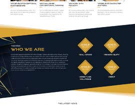 #8 para Sleek and Eye-Catching Landing Page for Hedge Fund por saidesigner87