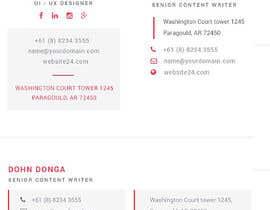 Nro 107 kilpailuun Email Signature käyttäjältä zahiduiux