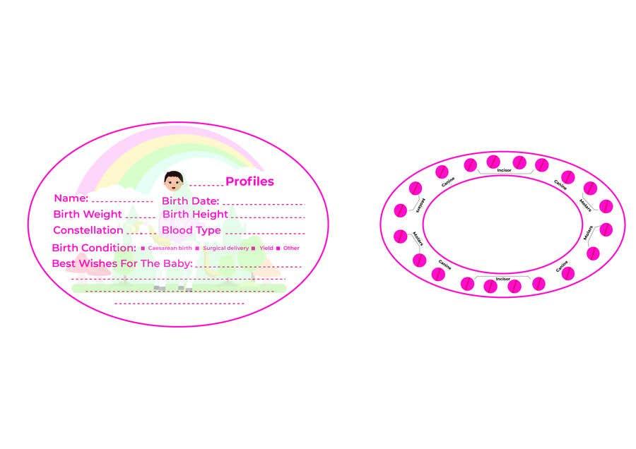 Kilpailutyö #25 kilpailussa Need a cute Stickers Design
