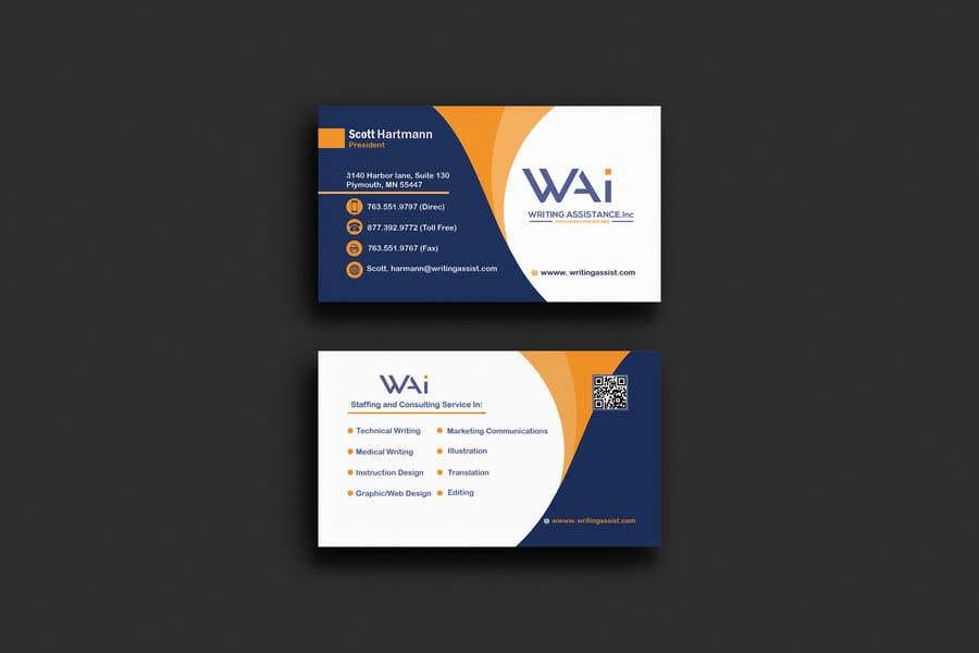 Inscrição nº 395 do Concurso para New Business Card Design