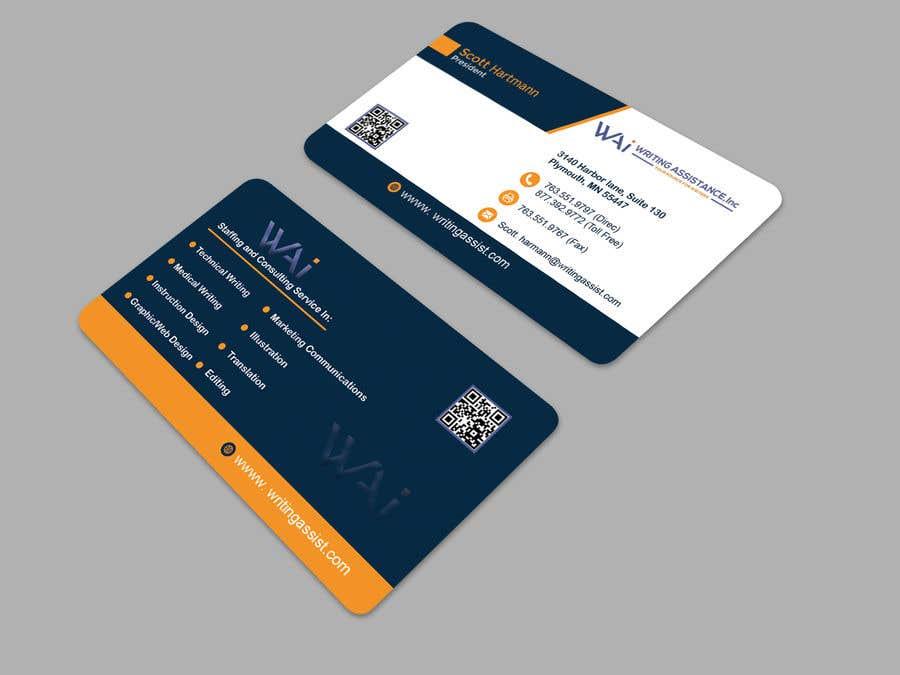 Inscrição nº 541 do Concurso para New Business Card Design