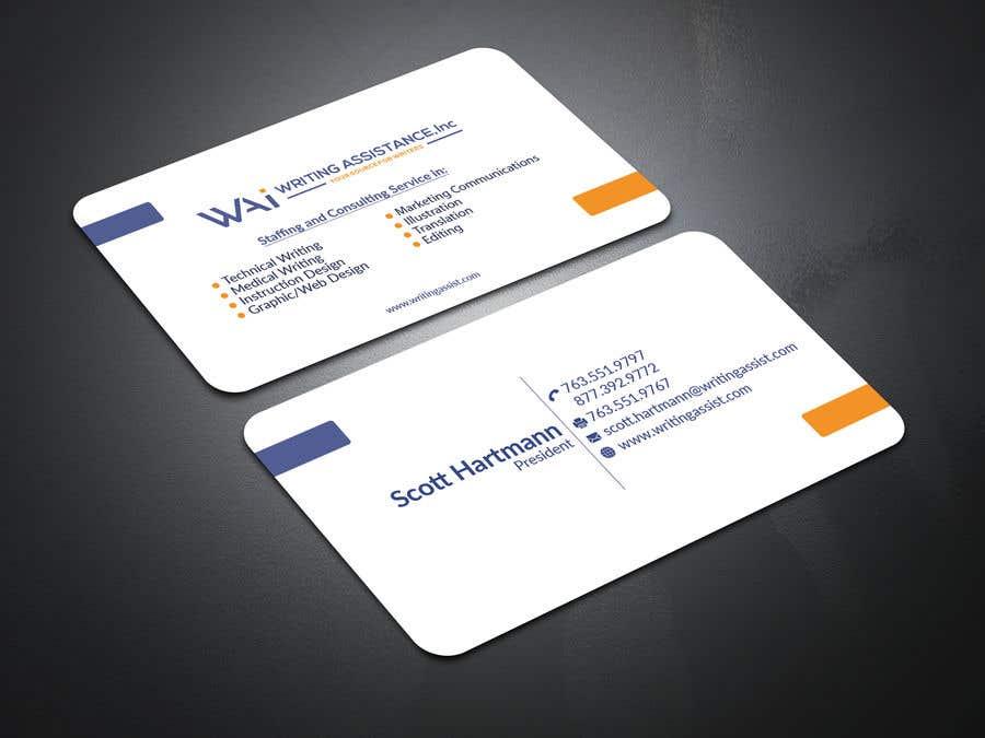 Inscrição nº 462 do Concurso para New Business Card Design