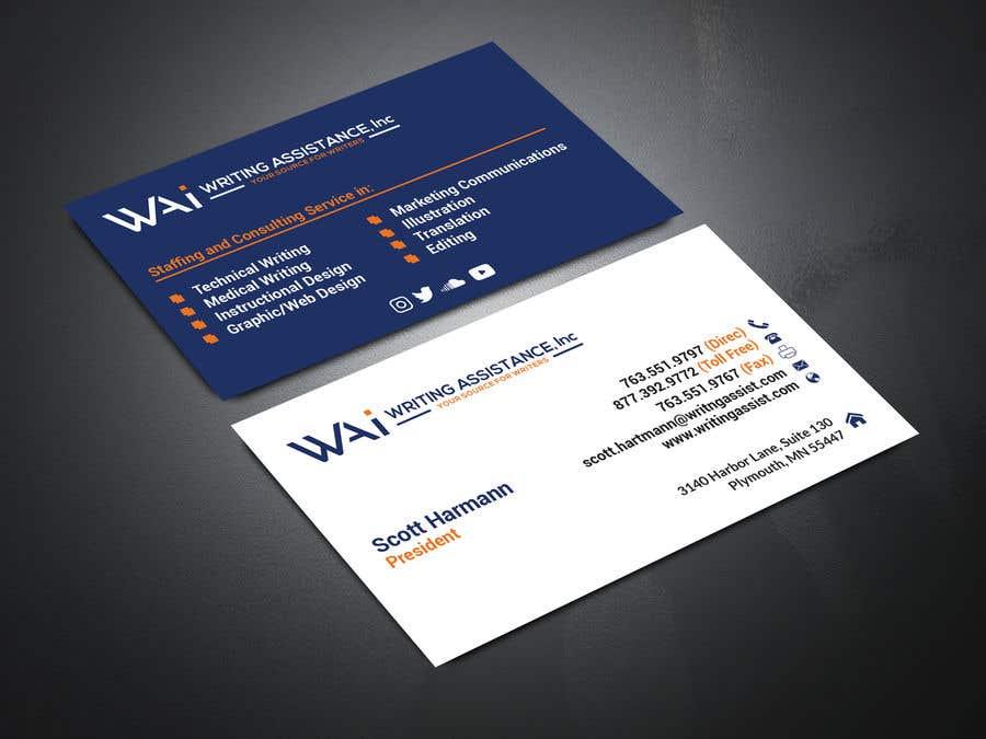 Inscrição nº 612 do Concurso para New Business Card Design
