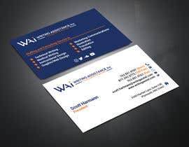 Nro 612 kilpailuun New Business Card Design käyttäjältä atiktazul7