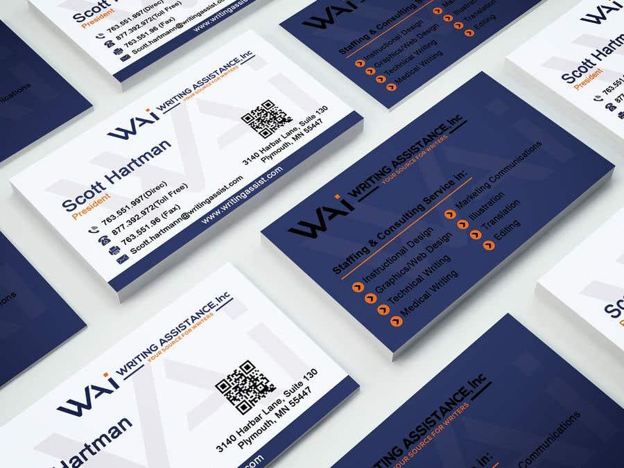 Inscrição nº 638 do Concurso para New Business Card Design