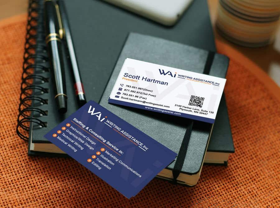 Inscrição nº 641 do Concurso para New Business Card Design