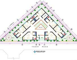 nº 35 pour Floor Plan needed for a student residence par Arshad1Pervez