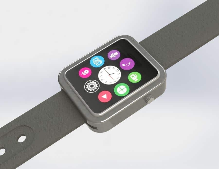 Penyertaan Peraduan #25 untuk Design a kids smart watch - body & strap