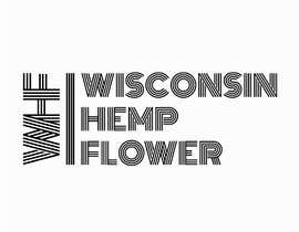#93 for Wisconsin Hemp Flower Logo in a style Similar to an Uploaded File by almas1969bd