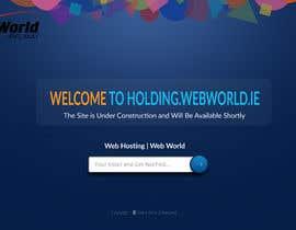 #121 cho Creative holding page for hosting company bởi niloynill512