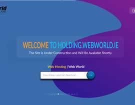 #124 cho Creative holding page for hosting company bởi niloynill512