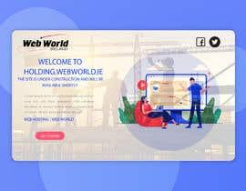 Nro 156 kilpailuun Creative holding page for hosting company käyttäjältä niloynill512