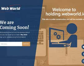 #100 cho Creative holding page for hosting company bởi shimul663