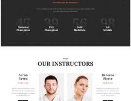 nº 37 pour Design for capoeira web site par farabiislam888