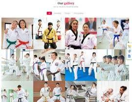 nº 45 pour Design for capoeira web site par gatissharm