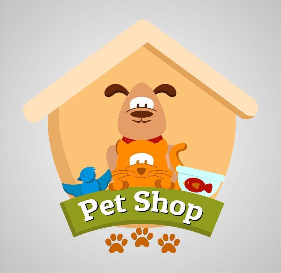 Penyertaan Peraduan #46 untuk Need a creative logo for my online pet store