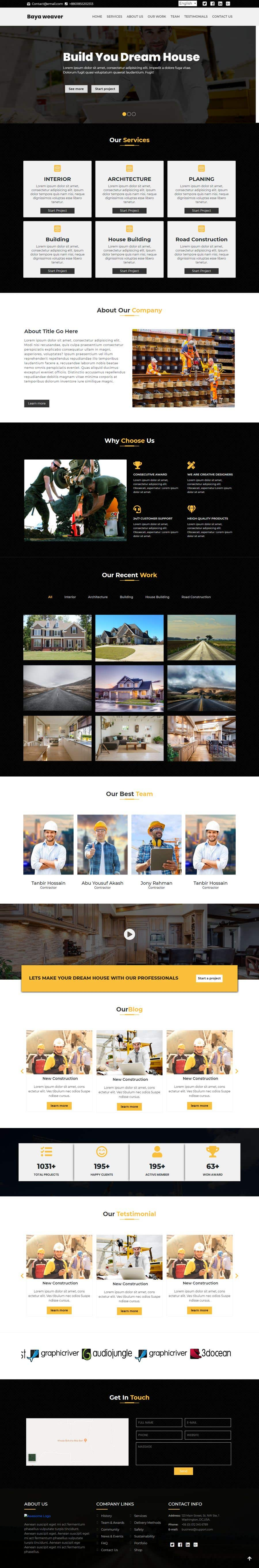 Bài tham dự cuộc thi #11 cho Home Page Design