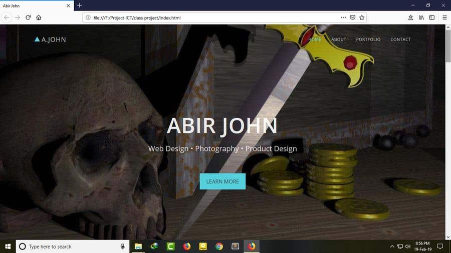 Bài tham dự cuộc thi #2 cho Home Page Design