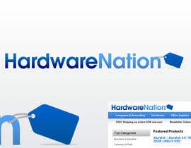 #237 za Logo Design for HardwareNation.com od Vick77