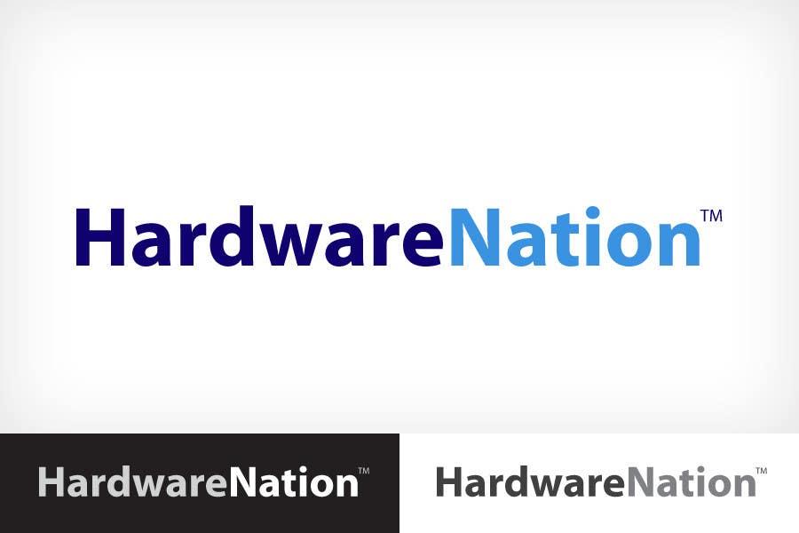 Contest Entry #                                        355                                      for                                         Logo Design for HardwareNation.com