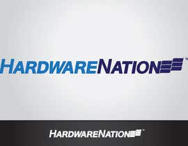 #410 untuk Logo Design for HardwareNation.com oleh tiffont