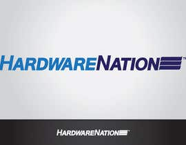 #409 untuk Logo Design for HardwareNation.com oleh tiffont
