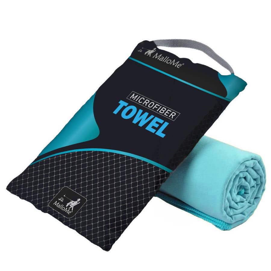 Kilpailutyö #18 kilpailussa EYE Catching Bag Design for Microfiber Towel Bag