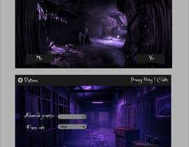Nro 7 kilpailuun Design a main menu for a horror game käyttäjältä Cmyksonu