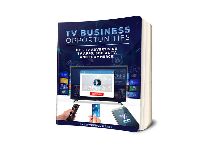 Bài tham dự cuộc thi #64 cho Create a Front Book Cover Image about New TV Business Opportunities