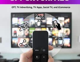 #68 for Create a Front Book Cover Image about New TV Business Opportunities by mabhinav60