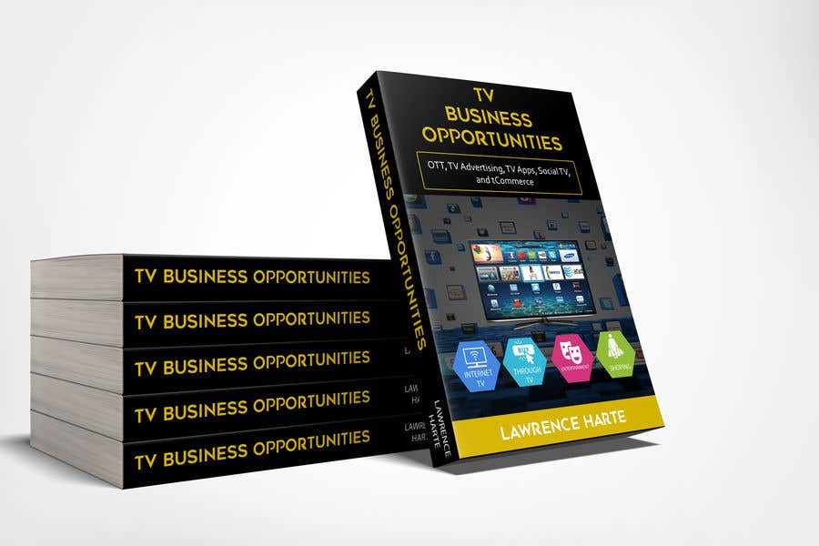 Proposition n°66 du concours Create a Front Book Cover Image about New TV Business Opportunities