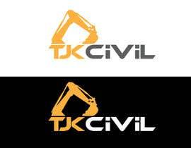 #28 cho logo design for TJK Civil bởi ituhin750