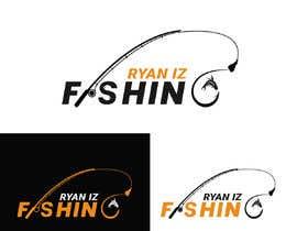 """ikramulcsm tarafından Create a Fishing Logo """"RYAN IZ FISHING"""" için no 269"""