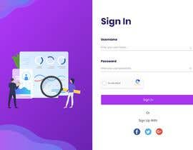 #18 for Design a CRM system landing page by Waliulah