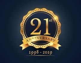 #10 untuk 21st Anniversary Logo oleh Izuraismail