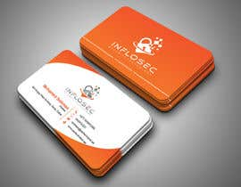 #510 for Business Card Design for IT Security Company by abdulmonayem85