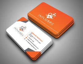 #512 for Business Card Design for IT Security Company by abdulmonayem85