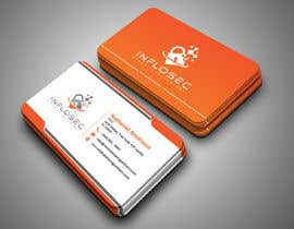 #513 for Business Card Design for IT Security Company by abdulmonayem85
