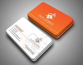 #516 for Business Card Design for IT Security Company by abdulmonayem85