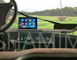 #24 para Photoshop touch screen on to dashboard of golf cart por shamim66