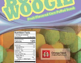 #19 for Need a label for a corn puff product af mrsi