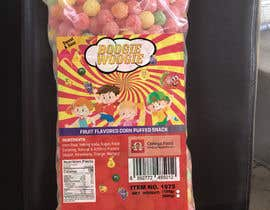 #13 for Need a label for a corn puff product af khuramja