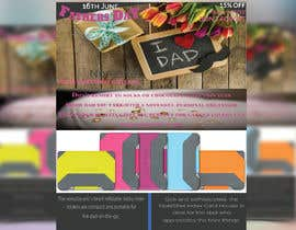 #34 untuk Need a flyer designed for Fathers Day Promotion oleh sultanalam18