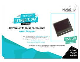 #32 untuk Need a flyer designed for Fathers Day Promotion oleh Azrin1811