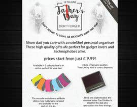 #47 untuk Need a flyer designed for Fathers Day Promotion oleh azahermia