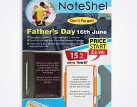 #43 untuk Need a flyer designed for Fathers Day Promotion oleh sushanta13