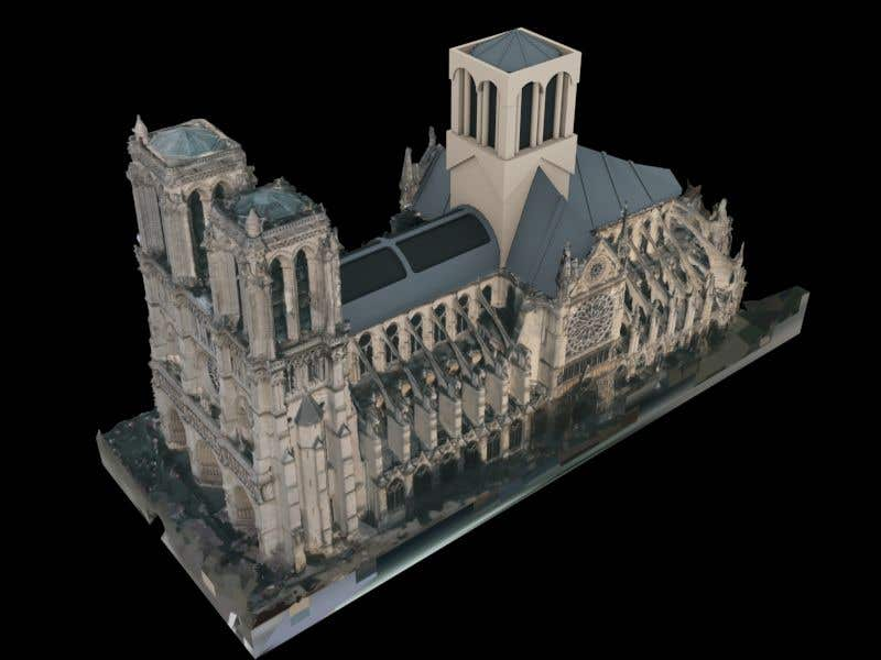 Contest Entry #                                        86                                      for                                         How would you rebuild the Notre-Dame Cathedral?