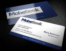 #2 para Business Card Design for MobeSeek de topcoder10