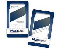#34 for Business Card Design for MobeSeek by webomagus